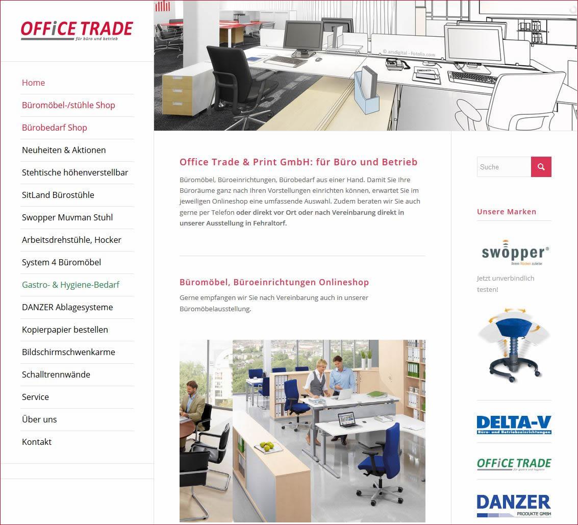 Office-Trade.ch: Bürobedarf und Büromöbel - Onlineshop