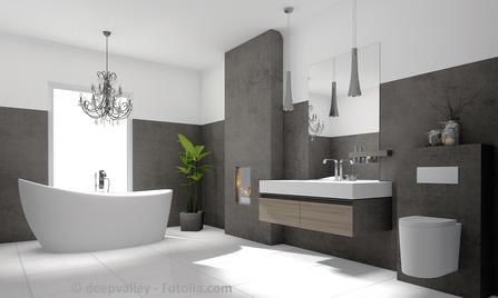 Moderne Badezimmer: Wohnen, leben, geniessen.