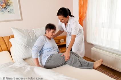 Alterspflege und die Erwartungen von Angehörigen