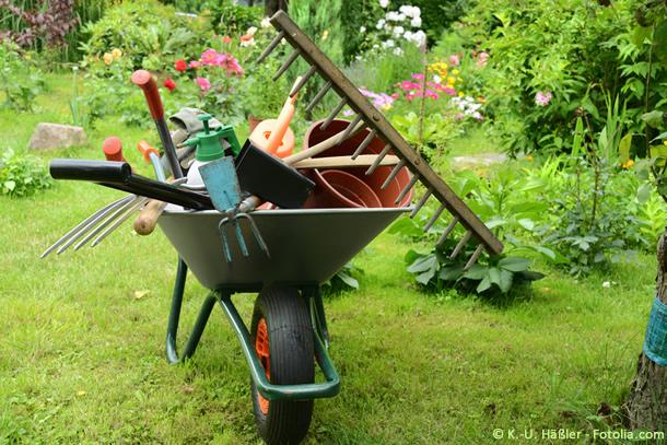 Gartengestaltung ist das eine, Gartenpflege, das andere