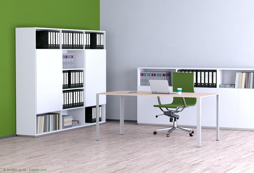 Büromöbel und Bürobedarf haben einen grossen Einfluss auf die Motivation.