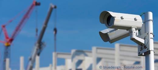 Baustellen-Überwachungskameras: Damit versprochene Leistung gewährleistet wird ...