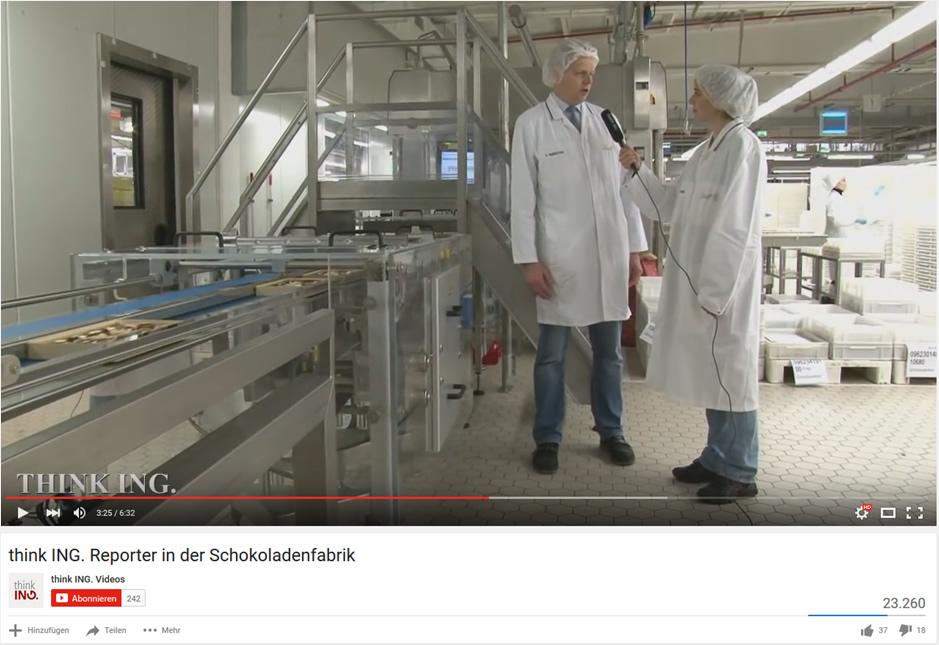 Der Besuch in der Schokoladenfabrik und wie eine Pralinenschachtel entsteht