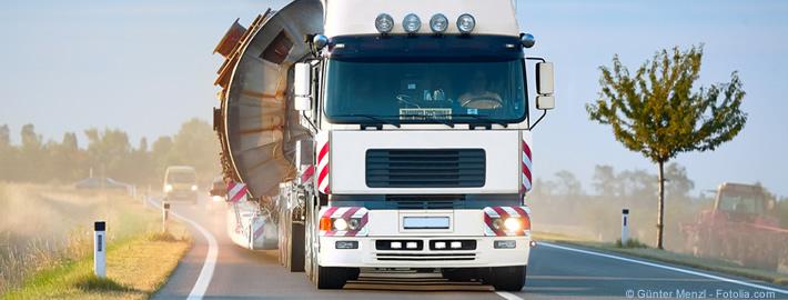 Spezialtransport: Gut organisiert und hohe Sicherheitsanforderungen