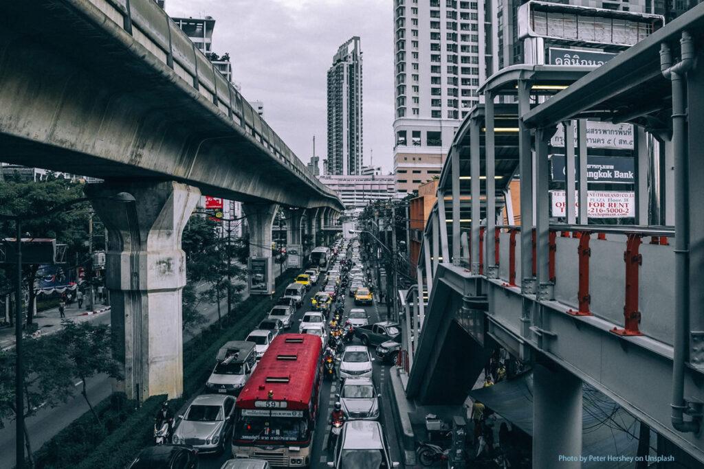 Nicht nur bei Baustellen, sondern auch im Strassenverkehr sind Webcams wichtig