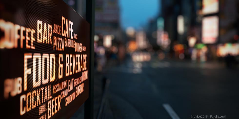 Digital Signage - digitale Werbung bewegt