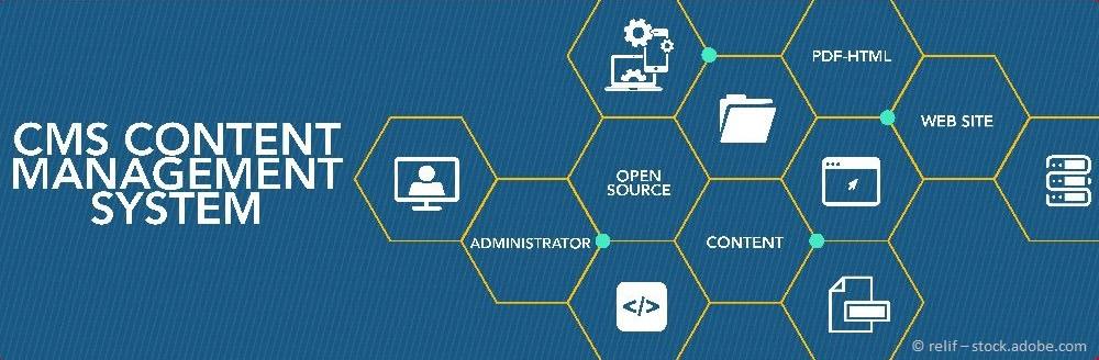 Content Management System: Damit die Bewirtschaftung der Webseite einfacher wird.