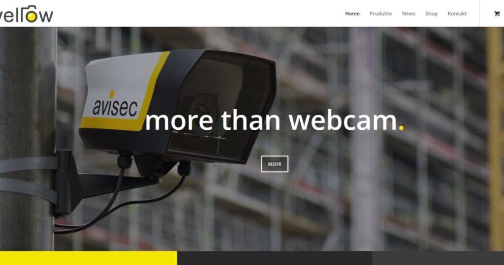 Yellow Cam - DSLR Kamera Outdoor Housing, made in Switzerland