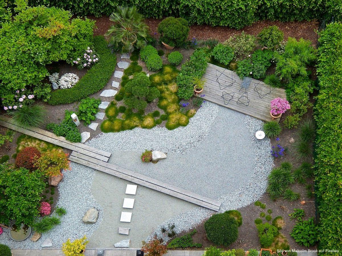 Gartenideen: Ob klein ob gross - Gärten müssen gut geplant sein