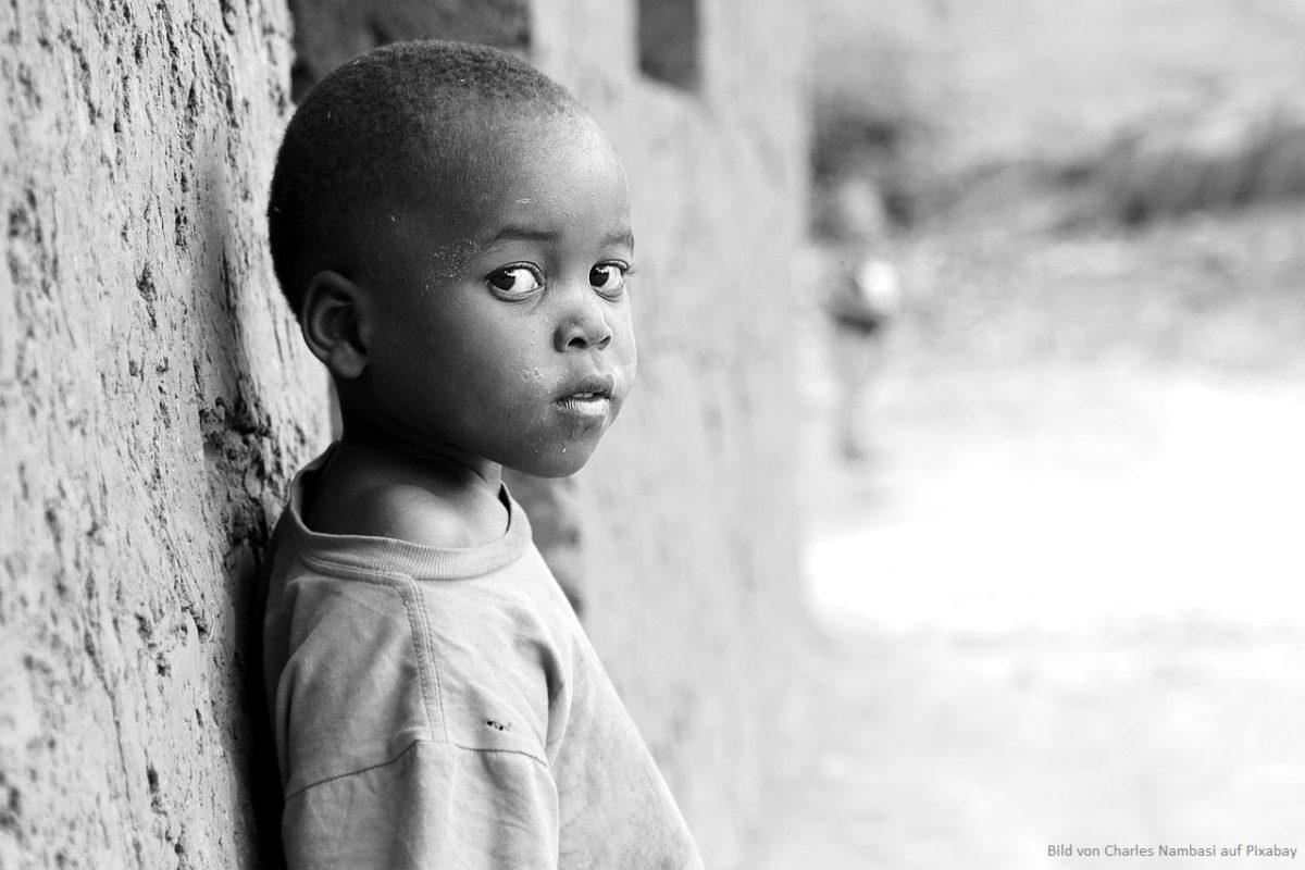 Kinder in Afrika brauchen unsere Unterstützung