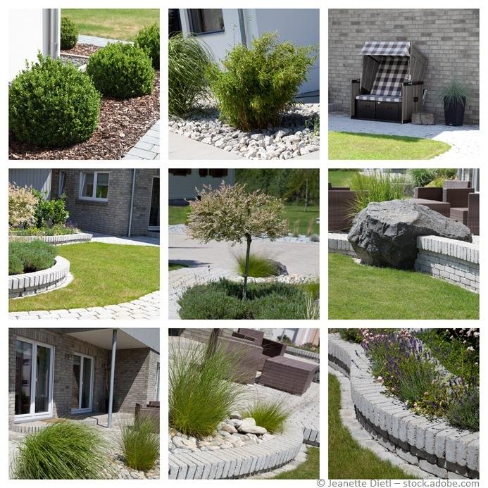 Den Garten und die Umgebung planen