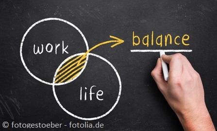 Work-Life-Balance: Bewegung, Essen, Nahrungsergänzung